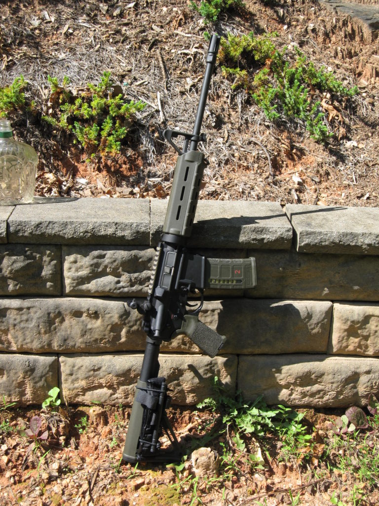 "16"" Carbine with light weight barrel"