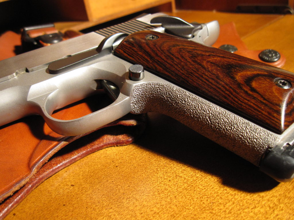 Colt Officers ACP. All custom work done by Steve Jarrell