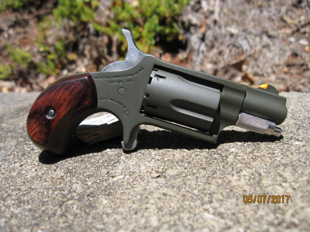 NAA mini revolver custom package in Magpul OD Green moly resin.