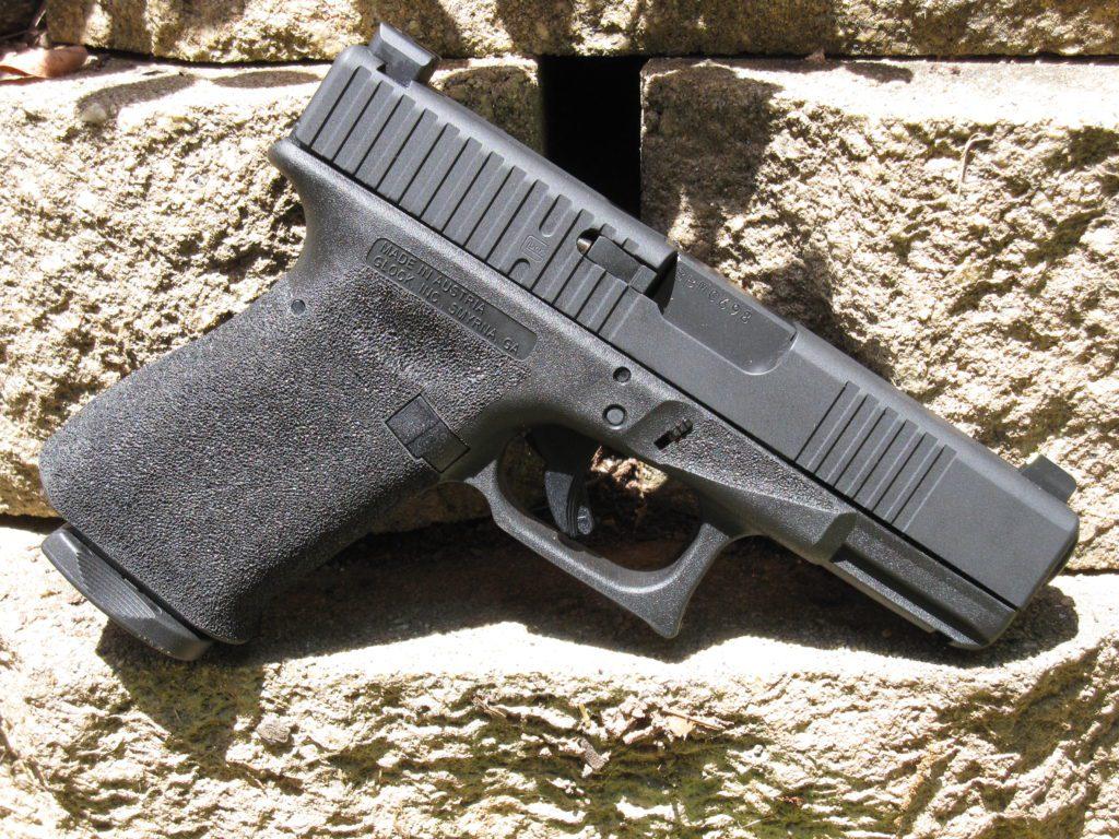 MA Glock 23 with SOCOM Black moly coat