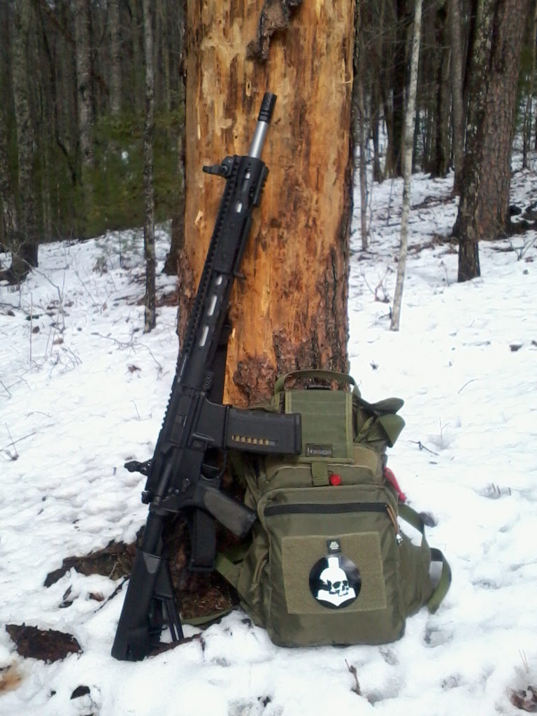 "MA Black Rifle with 18"" stainless SPR barrel"