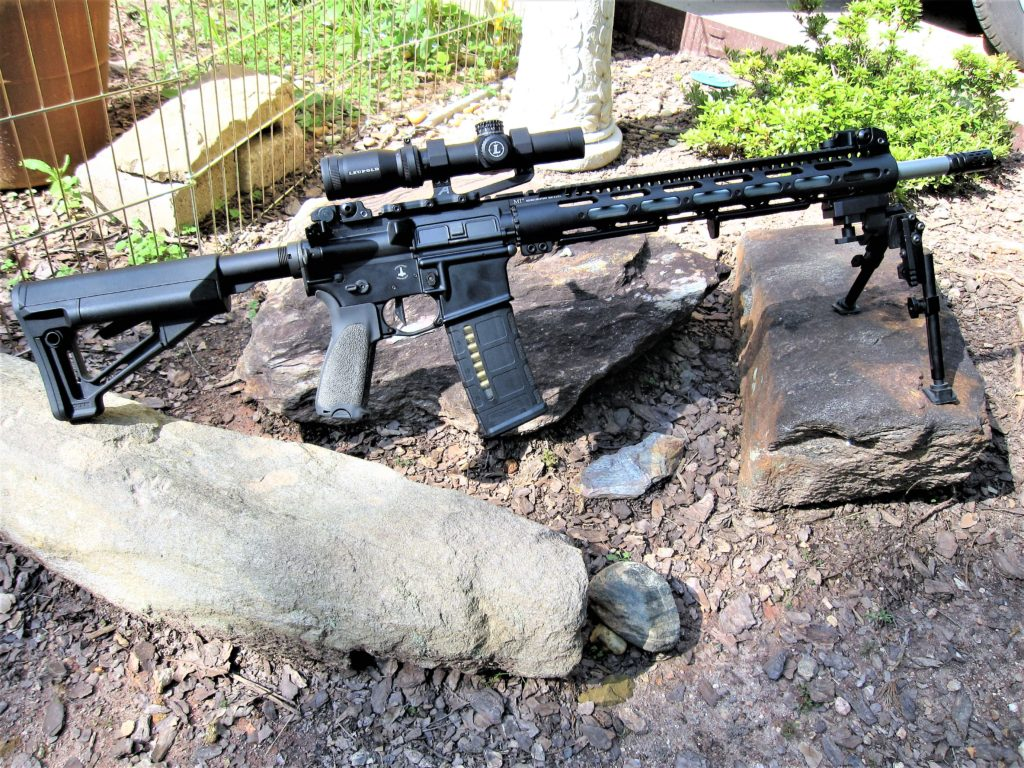 """Black Rifle with 18"""" match grade, stainless, Special Purpose Rifle barrel"""