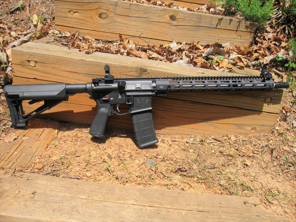 "16"" Black Rifle"