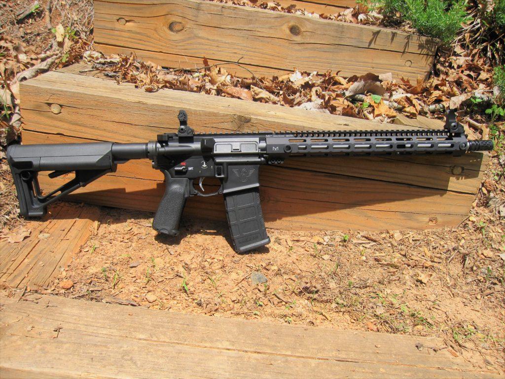 "16"" Black Rifle"