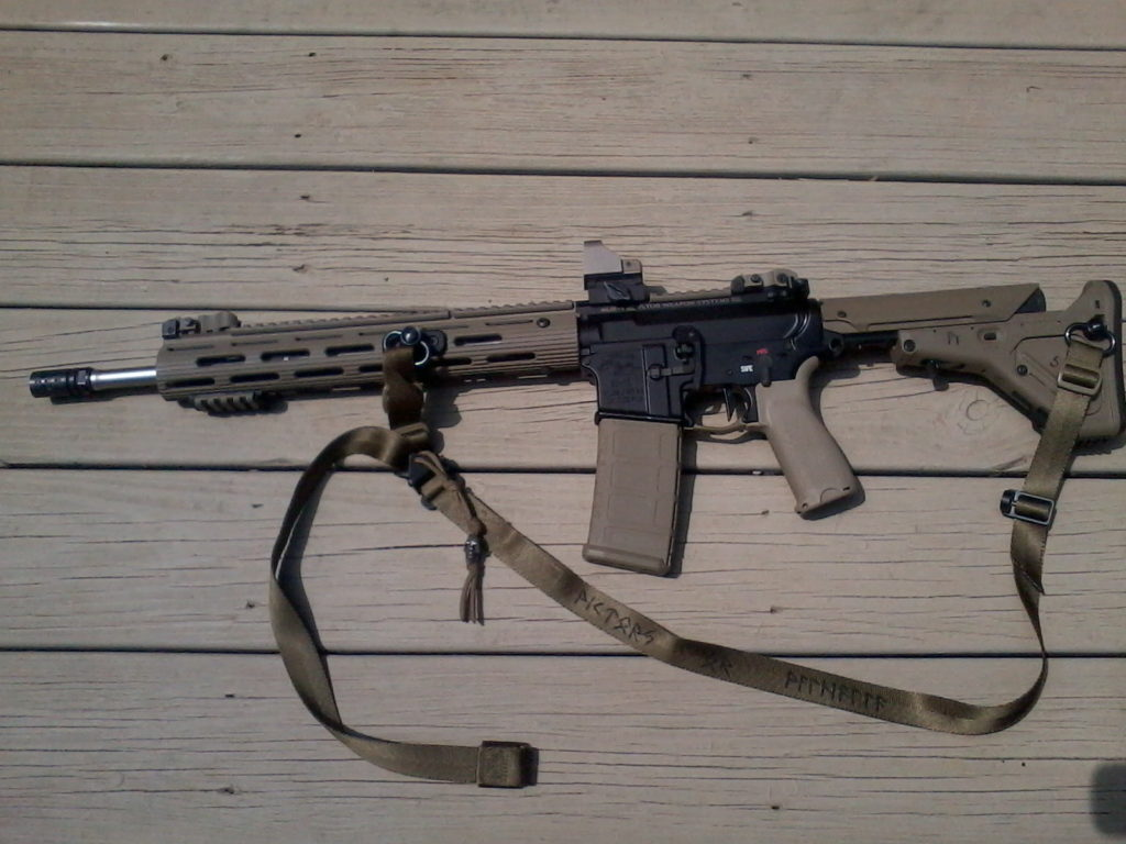 "Carbine with Wilson Combat 16"", light weight, stainless barrel"