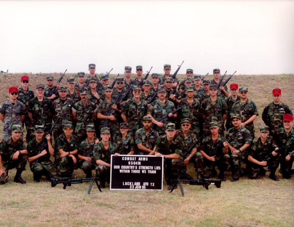 USAF Combat Arms Technical School graduation