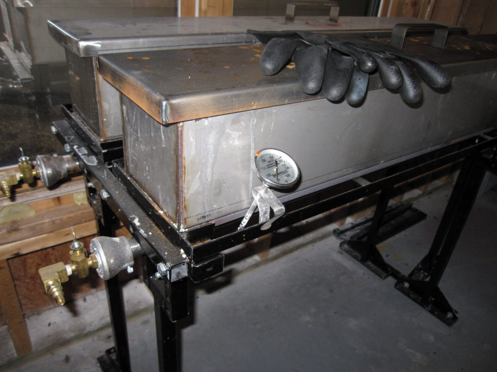 Parkerizing tanks in house