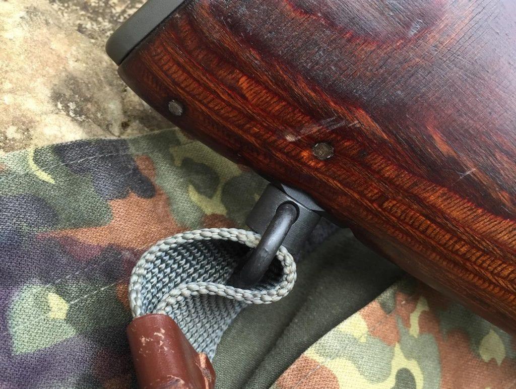 Quick detach sling swivel mount conversion