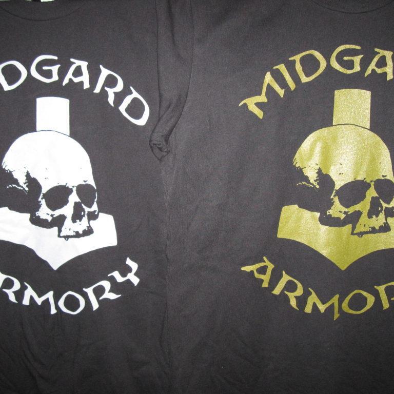 T Shirts (L: Grey, R: OD Green)